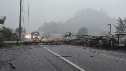 Lluvias causan destrozos en Alta Verapaz