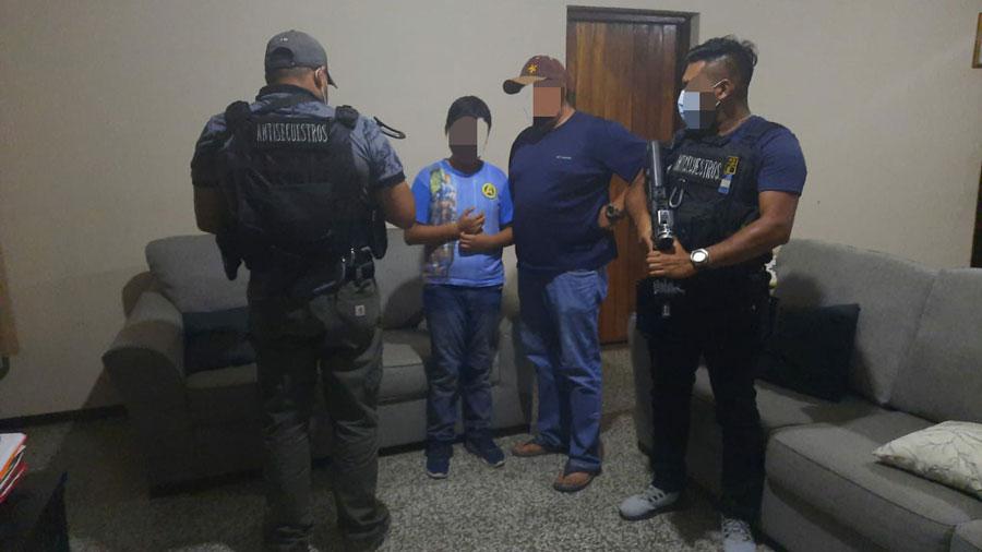 Menor secuestrado en Baja Verapaz es rescatado