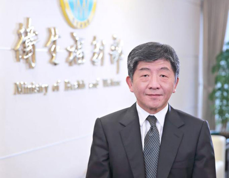 Doctor Shih-chung Chen, ministro de Salud de Taiwán