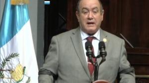 preisdente Alejandro Giammattei en presentación de primer informe cuatrimestral 2021