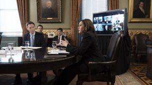 vicepresidenta de Estados Unidos se reúne con representantes del sector privado del Triángulo Norte de Centroamérica