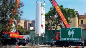 Hospital General adquiere tanque de oxígeno para reforzar atención por Covid-19