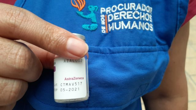 Vacuna de AstraZeneca es supervisada por PDH