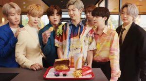 BTS y McDonald's