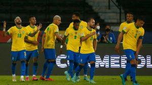 Brasil vence a Perú
