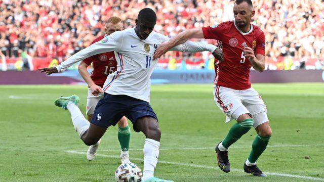 Ousmané Dembélé se pierde el resto de la Eurocopa