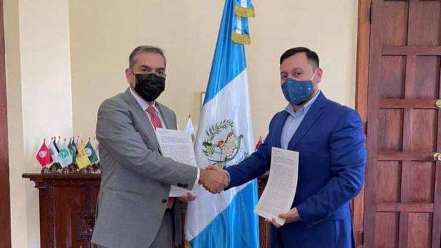 El Ministerio de Gobernación firma un convenio con Crime Stopper Guatemala, para fortalecer la seguridad ciudadana.