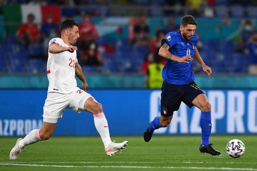 Italia vs Suiza, grupo A, Eurocopa