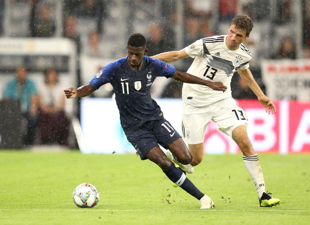 Jugadores a seguir en la Eurocopa, Ousmane Dembélé