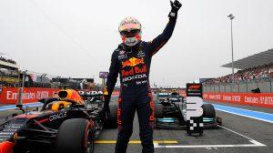 "Max Verstappen gana ""la pole"" del GP de Francia"