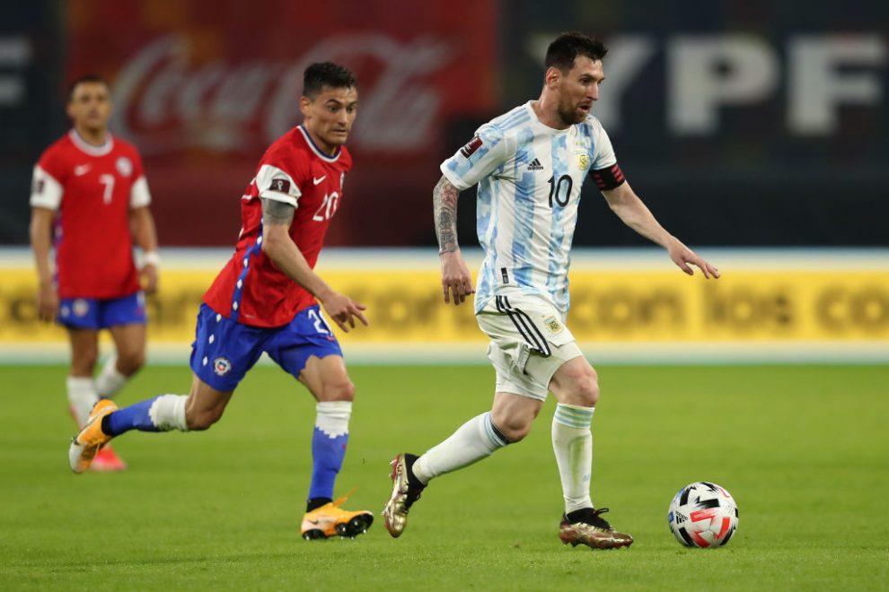 Argentina debuta ante Chile