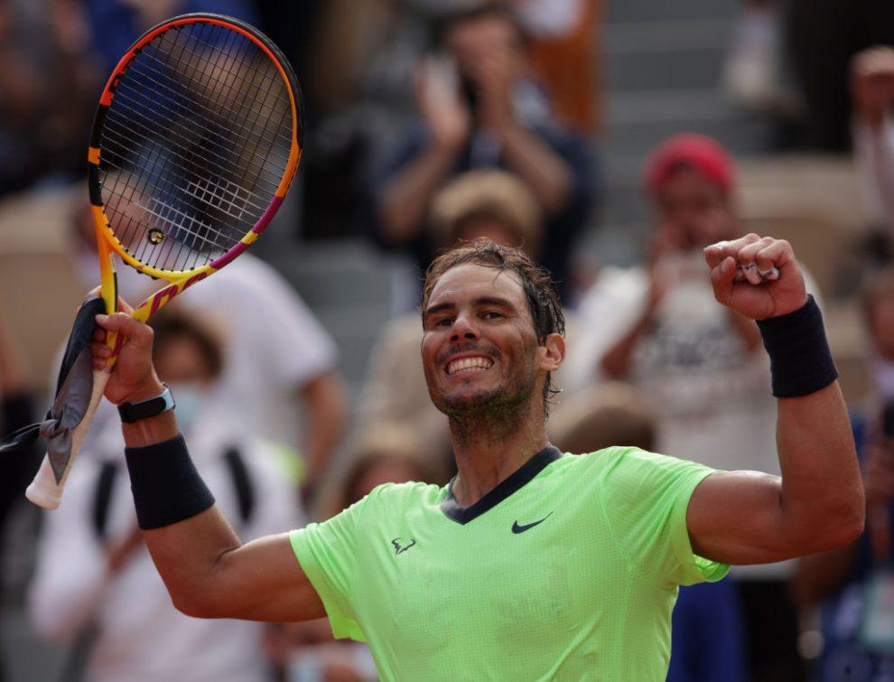Rafael Nadal clasifica a los octavos del Roland Garros