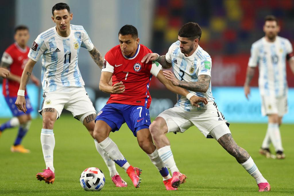 Argentina vs Chile, eliminatorias Conmebol