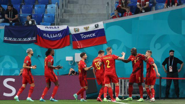 Triunfo de Bélgica sobre Rusia