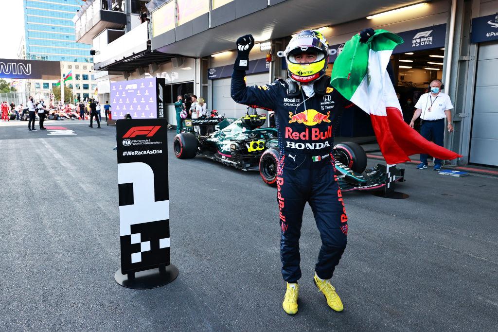 Sergio Pérez se queda con el GP de Azerbaiyán