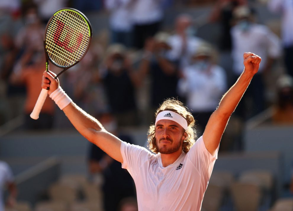 Stefanos Tsitsipas es finalista del Roland Garros