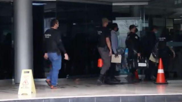 Allanamiento en Casa Presidencial de Costa Rica