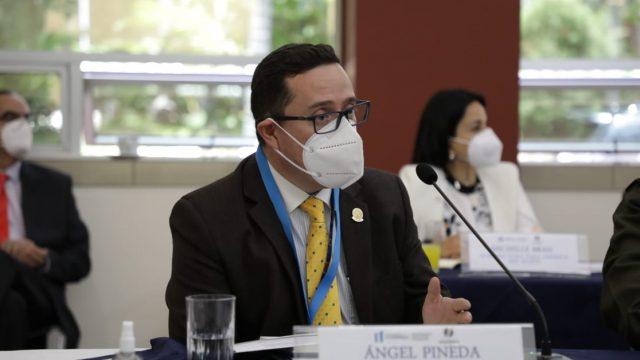 Ángel Pineda, secretario de Asuntos Internacionales del MP