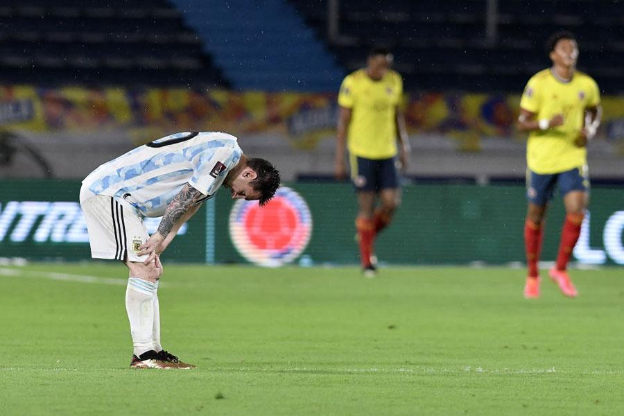 Argentina empata contra Colombia