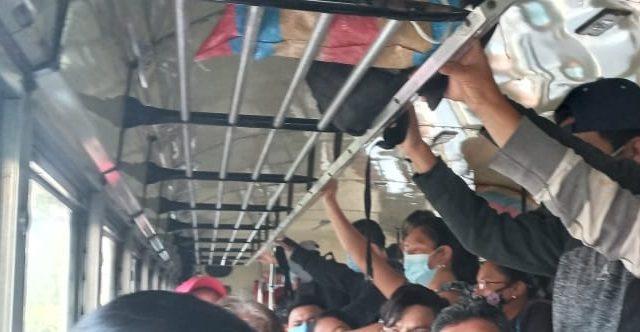 Covid-19: Sancionan a pilotos de buses en Mixco por incumplir protocolos