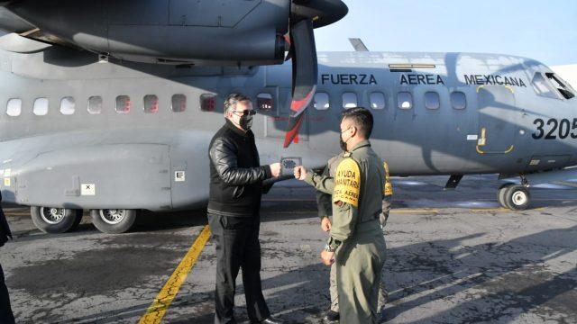 canciller de México viaja a Guatemala para entregar vacunas donadas