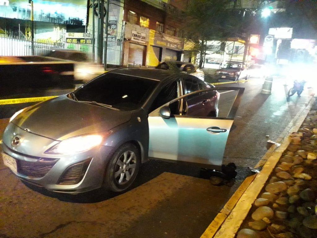 automovilistas se enfrentan a balazos en zona 7 de Mixco