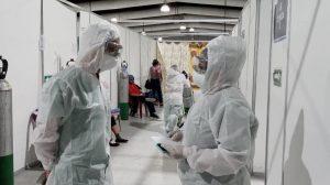 PDH verifica hospital temporal del Parque de la Industria - Covid-19
