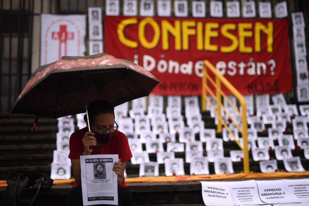 manifestación contra exmilitares implicados en caso Diario Militar