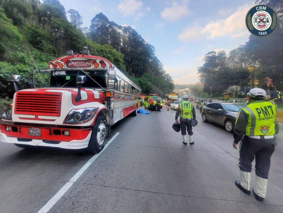 Motorista muere tras colisión en ruta al Pacífico