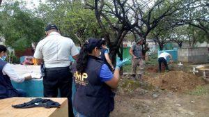 exhumaciones en Zacapa en busca de Cristina Siekavizza
