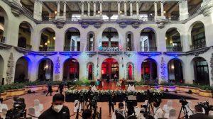 Alejandro Giammattei y Kamala Harris se reunirán en el Palacio Nacional