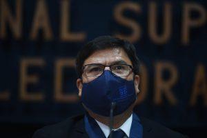magistrado presidente del TSE, Ranulfo Rafael Rojas