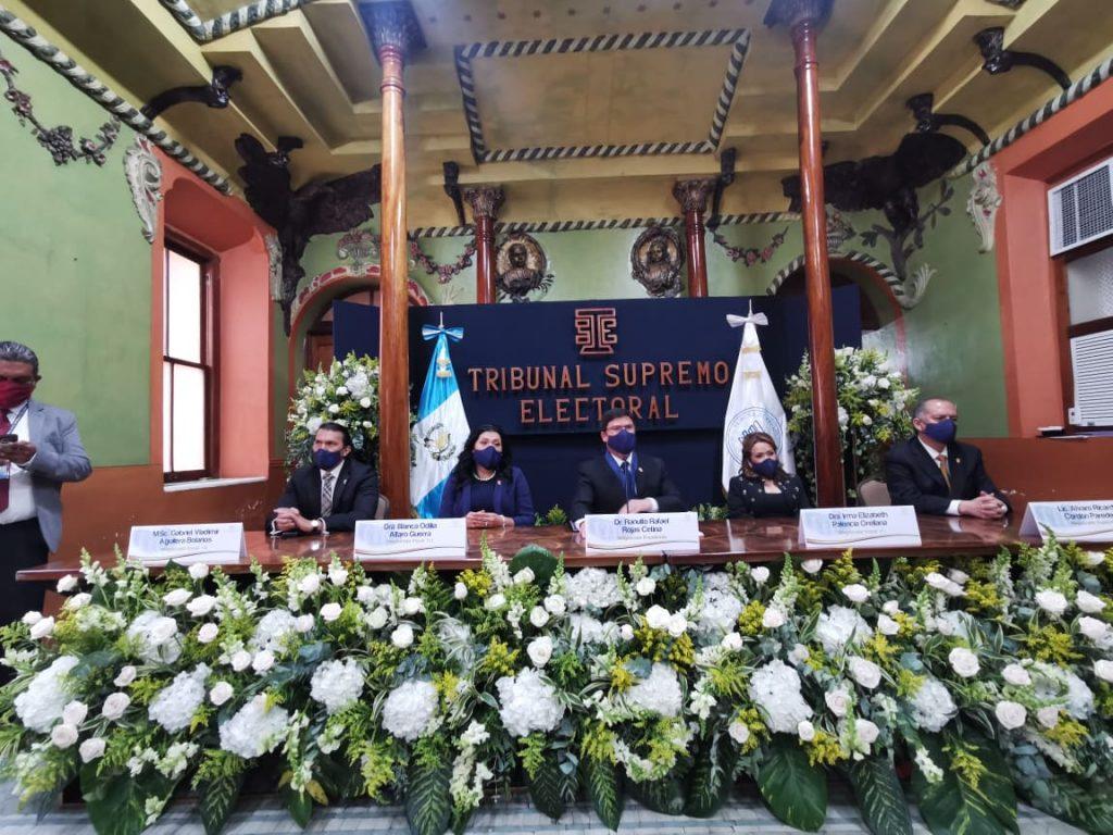 magistrados del TSE, Tribunal Supremo Electoral
