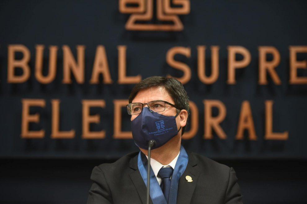 magistrados del TSE, Tribunal Supremo Electoral, Rafael Rojas