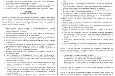 """leyes de zonas francas y """"antitrámites"""""""