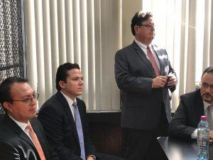 Rodrigo Arenas y Andrés Botrán deberán escuchar a la jueza Erika Aifán una vez más, para saber si enfrentarán juicio.