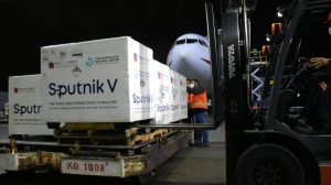 Guatemala recibe otras 50 mil dosis de Sputnik V