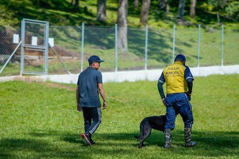 Unidad canina se incorporará a Policía Municipal de Santa Catarina Pinula