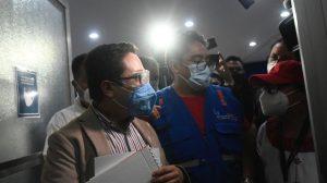Juan Francisco Sandoval, exjefe de la Fiscalía Especial contra la Impunidad (FECI), acudió a la Procuraduría de los Derechos Humanos (PDH) después de ser destituido del Ministerio Público (MP).