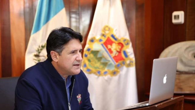 Ricardo Quiñónez, titular de la Municipalidad de Guatemala.