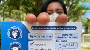 Vacunación contra el COVID-19 para periodistas.