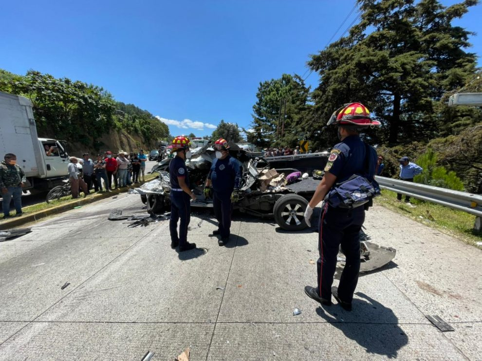 accidente de tránsito en ruta Interamericana