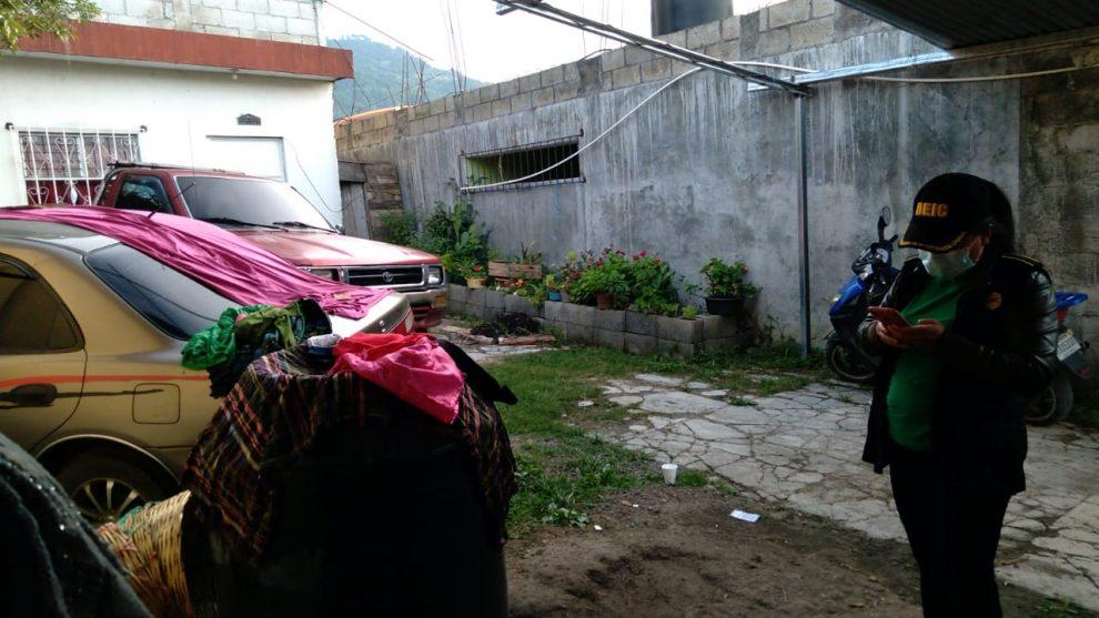 allanamientos en Quiché y Escuintla contra robo de vehículos