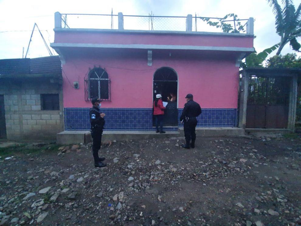 allanamientos en Huehuetenango por secuestro de niño migrante