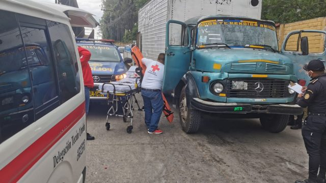 ataque contra recolector de basura en Amatitlán