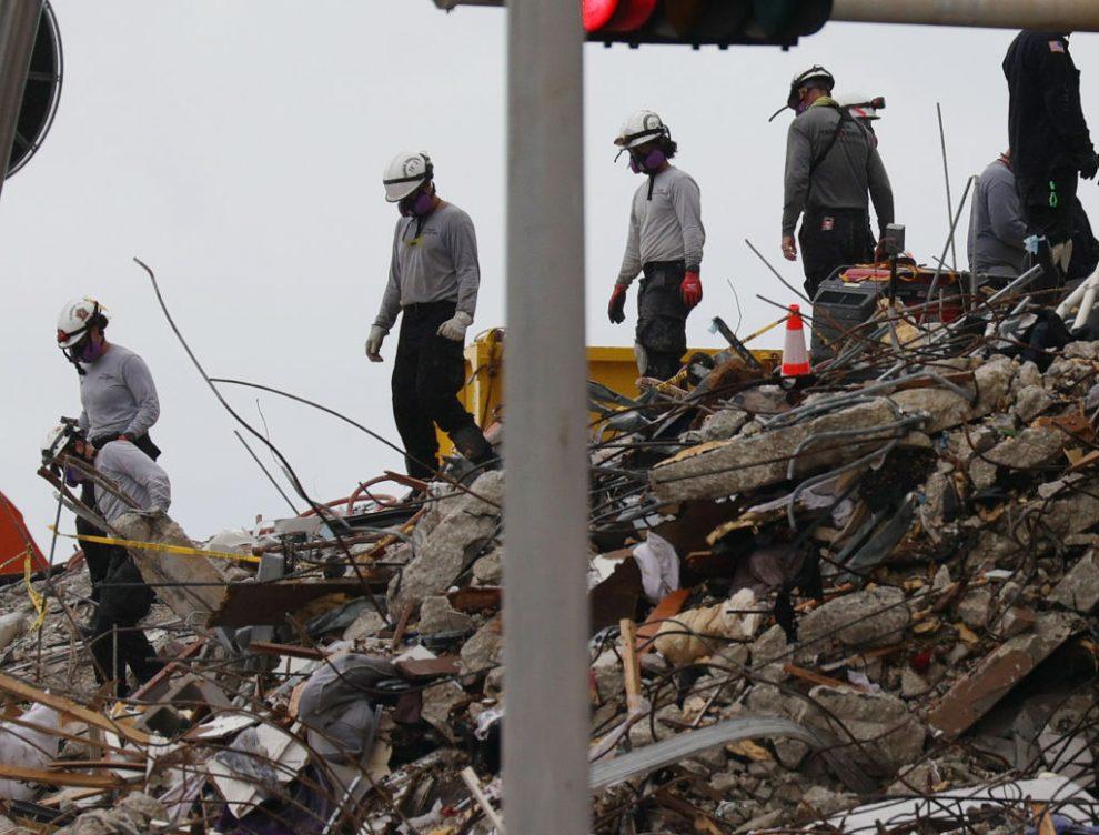 Derrumbe de edificio en Florida