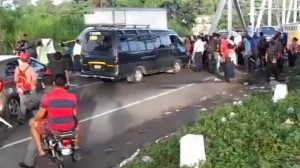 bloqueos en carreteras por paro nacional
