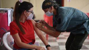 puestos de vacunación contra Covid-19 en Guardia de Honor, Ejército