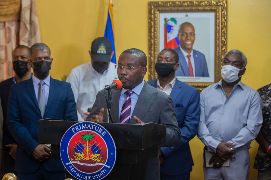 Claude Joseph, primer ministro de Haití