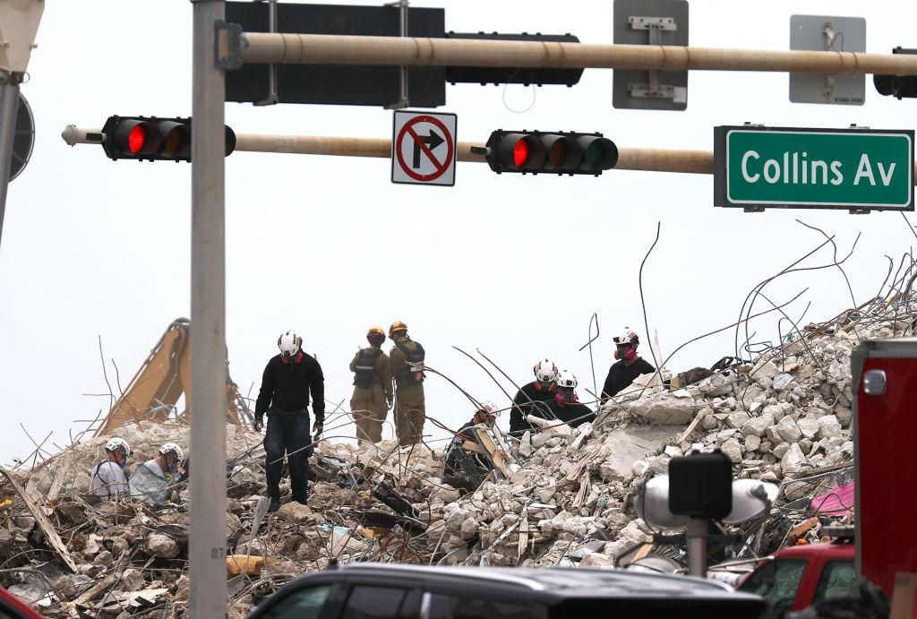 Derrumbe de edificio en Surfside